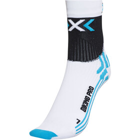 X-Socks Biking Pro Socks Damen white/turquoise